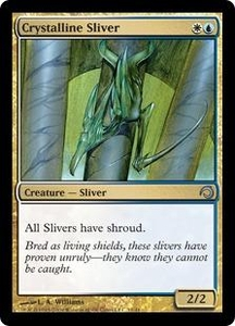 Magic the Gathering Premium Deck Series: Slivers Single Card Uncommon #11 Crystalline Sliver