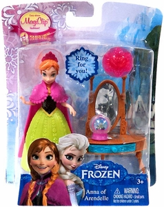 Disney Frozen 3.75 Inch MagiClip Action Figure Anna of Arendelle New!