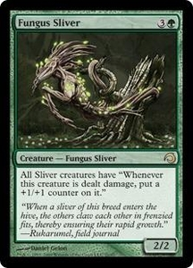 Magic the Gathering Premium Deck Series: Slivers Single Card Rare #21 Fungus Sliver