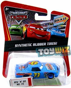 Disney / Pixar CARS Movie Exclusive 1:55 Die Cast Car with Synthetic Rubber Tires Rev-N-Go