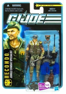 GI Joe Pursuit of Cobra 3 3/4 Inch Action Figure Recondo [Jungle Combat Specialist]