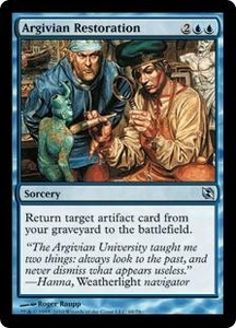 Magic the Gathering Duel Decks: Elspeth vs. Tezzeret Single Card Uncommon #69 Argivian Restoration