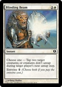 Magic the Gathering Duel Decks: Elspeth vs. Tezzeret Single Card Common #28 Blinding Beam