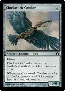 Magic the Gathering Duel Decks: Elspeth vs. Tezzeret Single Card Common #50 Clockwork Condor