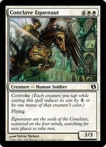 Magic the Gathering Duel Decks: Elspeth vs. Tezzeret Single Card Common #19 Conclave Equenaut