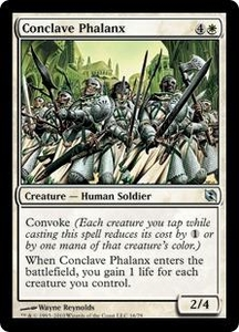 Magic the Gathering Duel Decks: Elspeth vs. Tezzeret Single Card Uncommon #16 Conclave Phalanx