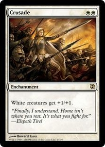 Magic the Gathering Duel Decks: Elspeth vs. Tezzeret Single Card Rare #27 Crusade
