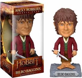 Funko Hobbit: Unexpected Journey Movie Wacky Wobbler Bobble Head Bilbo
