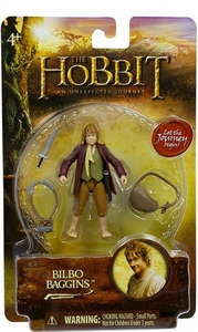 Hobbit: Unexpected Journey 3.75 Inch Action Figure Bilbo Baggins