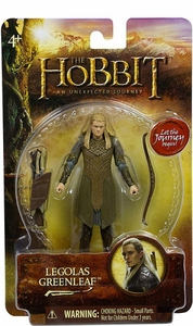 Hobbit: Unexpected Journey 3.75 Inch Action Figure Legolas Greenleaf