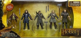 Hobbit: Unexpected Journey 3.75 Inch Hero Collector Action Figure 5-Pack [Bilbo, Thorin, Dwalin, Kili & Fili]