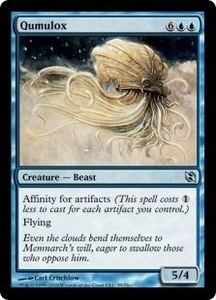 Magic the Gathering Duel Decks: Elspeth vs. Tezzeret Single Card Uncommon #59 Qumulox