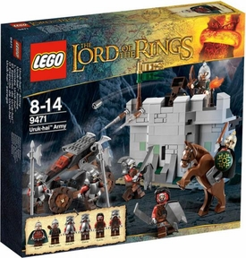 LEGO Lord of the Rings Set #9471 Uruk-Hai Army