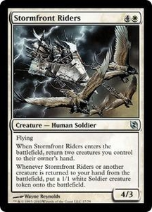Magic the Gathering Duel Decks: Elspeth vs. Tezzeret Single Card Uncommon #17 Stormfront Riders
