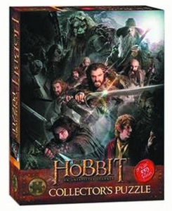 Hobbit An Unexpected Journey 550 Piece Collectors Puzzle