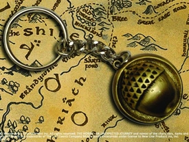 Hobbit Bilbo Button Keychain