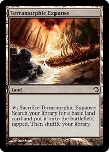 Magic the Gathering Premium Deck Series: Slivers Single Card Common #34 Terramorphic Expanse