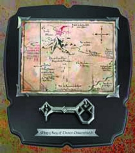 Hobbit Thorin Key & 8x8 Map