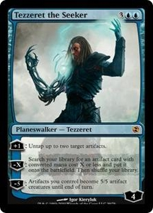 Magic the Gathering Duel Decks: Elspeth vs. Tezzeret Single Card Mythic Rare #39 Tezzeret the Seeker