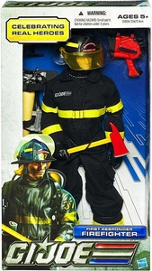 GI Joe Real American Hero 12 Inch Action Figure First Responder Firefighter