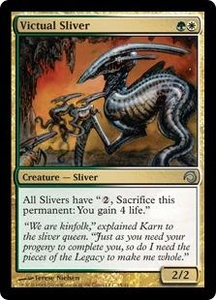 Magic the Gathering Premium Deck Series: Slivers Single Card Uncommon #15 Victual Sliver