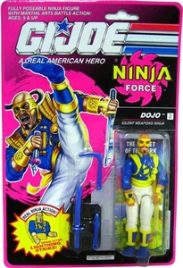 GI Joe Hasbro A Real American Hero 3 3/4 Inch Action Figure Ninja Force [Real Ninja Action!]