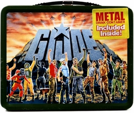 G.I. Joe  Metal Lunch Box with Thermos