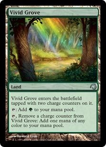 Magic the Gathering Premium Deck Series: Slivers Single Card Uncommon #36 Vivid Grove