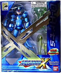 Mega Man X D-Arts 2011 SDCC San Diego Comic Con Exclusive 5 Inch Action Figure Mega Man X [Metallic Version]