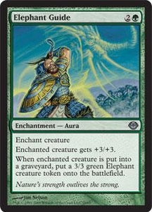 Magic the Gathering Duel Decks: Garruk vs. Liliana Single Card Uncommon #18 Elephant Guide