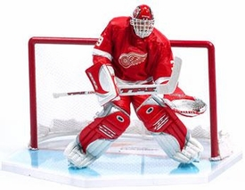 McFarlane Toys NHL Sports Picks Series 7 Action Figure Dominik Hasek (Detroit Red Wings) Red Jersey
