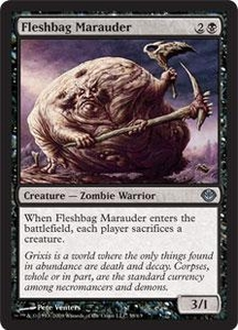 Magic the Gathering Duel Decks: Garruk vs. Liliana Single Card Uncommon #38 Fleshbag Marauder