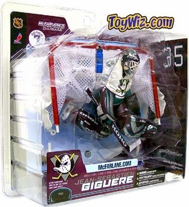 McFarlane Toys NHL Sports Picks Series 7 Action Figure Jean-Sebastien Giguere (Anaheim Mighty Ducks) White Jersey