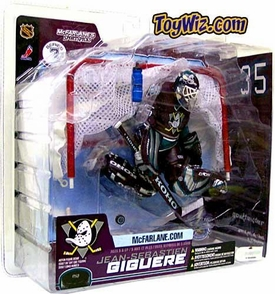 McFarlane Toys NHL Sports Picks Series 7 Action Figure Jean-Sebastien Giguere (Anaheim Mighty Ducks) Purple Jersey Variant