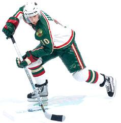 McFarlane Toys NHL Sports Picks Series 7 Action Figure Marian Gaborik (Minnesota Wild) White Jersey BLOWOUT SALE!