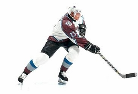 McFarlane Toys NHL Sports Picks Series 7 Action Figure Milan Hejduk (Colorado Avalanche) White Jersey