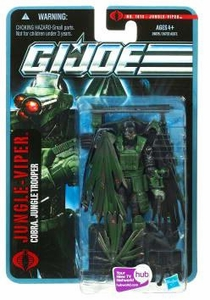 GI Joe Pursuit of Cobra 3 3/4 Inch Action Figure Jungle-Viper [Cobra Jungle Trooper]