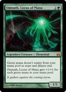 Magic: The Gathering From the Vault: Legends Single Card Green Mythic Rare #7 Omnath, Locus of Mana