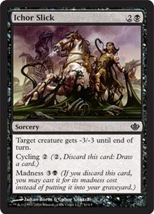 Magic the Gathering Duel Decks: Garruk vs. Liliana Single Card Common #51 Ichor Slick