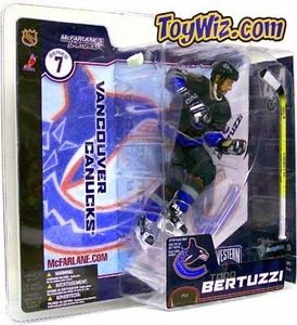 McFarlane Toys NHL Sports Picks Series 7 Action Figure Todd Bertuzzi (Vancouver Canucks) Blue Jersey Variant