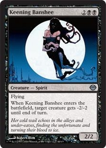 Magic the Gathering Duel Decks: Garruk vs. Liliana Single Card Uncommon #44 Keening Banshee
