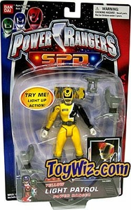 Power Rangers SPD Light Patrol Action Figure Yellow Ranger