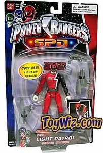 Power Rangers SPD Light Patrol Action Figure Red Ranger