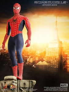 Spider-Man Hot Toys Movie 1/6 Scale Collectible Figure Spider-Man