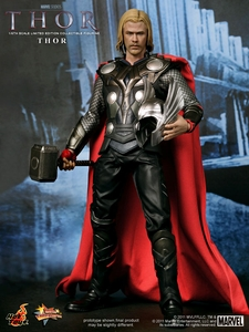 Thor Hot Toys Movie 1/6 Scale Collectible Figure Thor