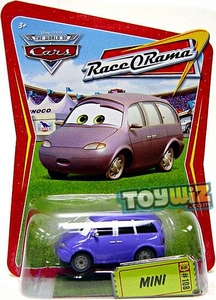Disney / Pixar CARS Movie 1:55 Die Cast Car Series 4 Race-O-Rama Mini [Mrs. Van]