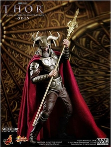 Thor Hot Toys Movie 1/6 Scale Collectible Figure Odin