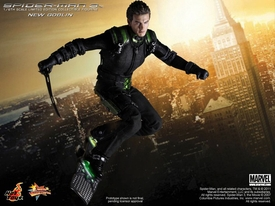 Spider-Man 3 Hot Toys Movie 1/6 Scale Collectible Figure New Goblin