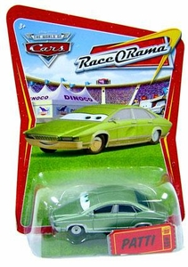 Disney / Pixar CARS Movie 1:55 Die Cast Car Series 4 Race-O-Rama Patti