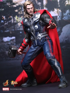 Avengers Hot Toys Movie 1/6 Scale Collectible Figure Thor
